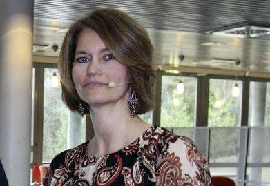 NY REKTOR: Brit Helle er ny rektor ved Vestby videregående skole.