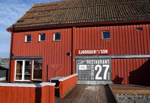 STENGT: Restaurant Sjøboden er konkurs, etter to økonomisk tøffe år.