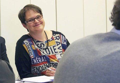 ORDFØRER I TOLGA: Ragnhild Aashaug (Senterpartiet).