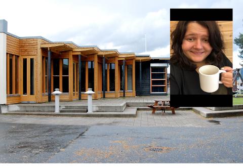 Monja Tannåneset (27) har drømmejobben som daglig leder ved Alvdal ungdomsskole.