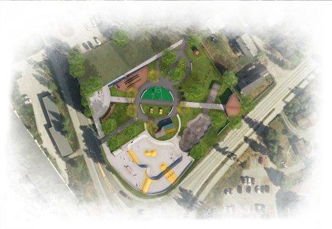 POLITISK VEDTAK I APRIL: I slutten av april skal politikerne i Tynset gjøre vedtak om en eventuell Folkehelsepark på Tronstuatomta. Nå får de med en formaning på veien mot vedtak.