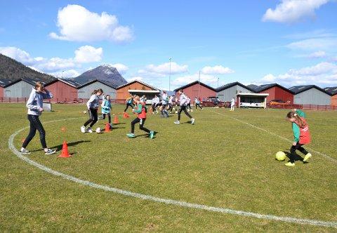 Blant dem som får støtte, er Kvass/Ulvungen FK. Ill.bilde.
