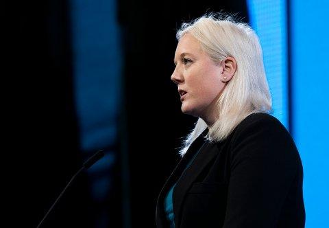 REAGERER: Aina Stenersen i Frp reagerer på utkastelsen av Jama-familien.