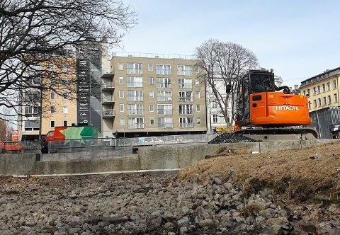 Nå oppgraderes vannspeilene på Alexander Kiellands plass.