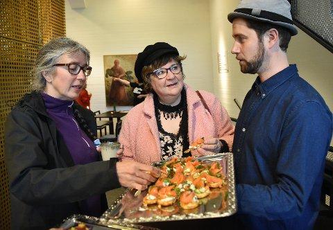 Meny: Alfred Liabäck er kafé og butikkleder på Hamsunsenteret med mye bra på menyen.