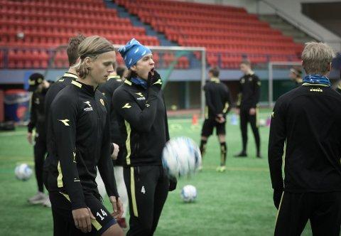 Til Molde?: Etter det TV 2 får opplyst skal en overgang til Molde være nært forestående for Martin Bjørnbak.