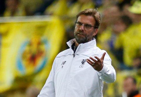Liverpools manager Jürgen Klopp var noen ganger oppgitt under kampen mot Villarreal torsdag kveld.