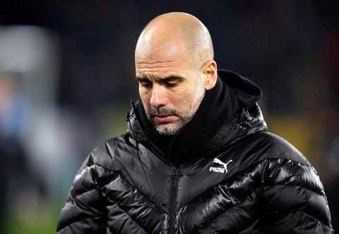Manchester City-manager Pep Guardiola har hatt mange tunge stunder i Premier League denne høsten, men i Champions League har City vært sterke.