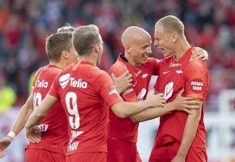 Kristoffer Barmen starter som spiss mot Lillestrøm. (Arkiv)