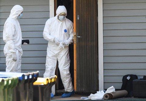 Kvinnen (55) ble funnet kvalt på soverommet.