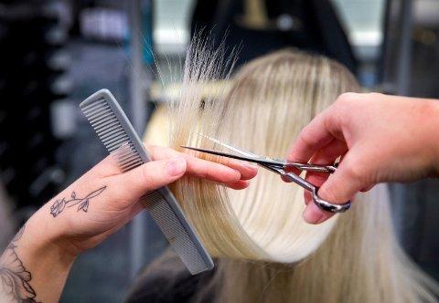 ANMELDT: Konkursen i en frisørsalong er nå politianmeldt. Illustrasjonsfoto.