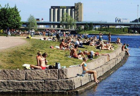 VARMT: Denne torsdagen kan bli en av de varmeste dagene denne sommeren.