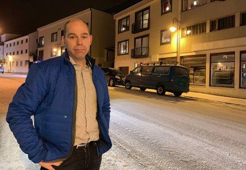 STYRELEDER: Yngve Kristiansen er med å ta initiativ på lokalt nivå.