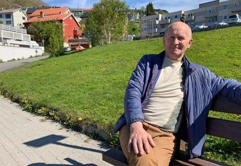 John Gunnar Broks ønsker at Nordvåginger på Magerøya skal bli kvitt skrot.