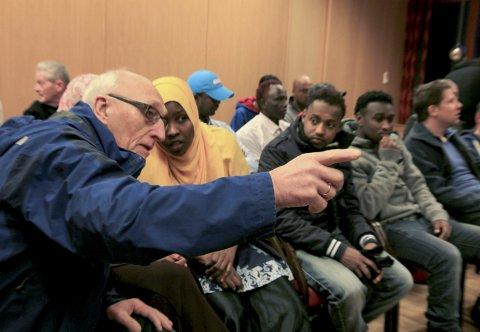 I framtida vil nye framandspråklege innvandrarar til Bremanger få norskopplæringa si frå Kåre Myklebust og vaksenopplæringa på nynorsk. (Arkivfoto)