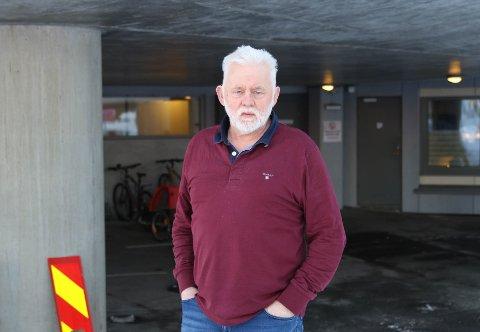 LUFTVEGSKLINIKK: Jan Helge Dale er godt fornøgd med tilbodet rundt luftvegsklinikken.