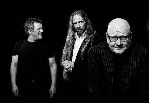 Opphavet: Bjørn Jenssen, Øivind Elgenes og Frode Alnæs (fra venstre) har vært med fra starten av. Nå kommer DWAS til Hvaler.