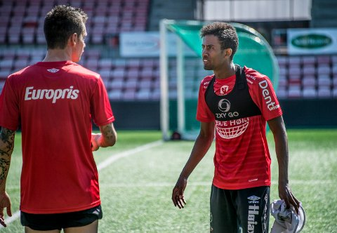 KAN BLI LÅNT UT: Anas Farah Ali har signert en toårsavtale med FFK, men kan bli lånt ut til en annen 2. divisjonsklubb.