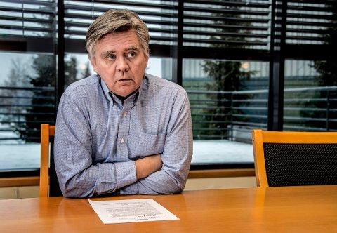BEKYMRET: Nils Agnar Brunborg, administrerende direktør ved Jøtul, sier at en streik vil være katastrofalt både for Jøtul og norsk industri samlet sett.