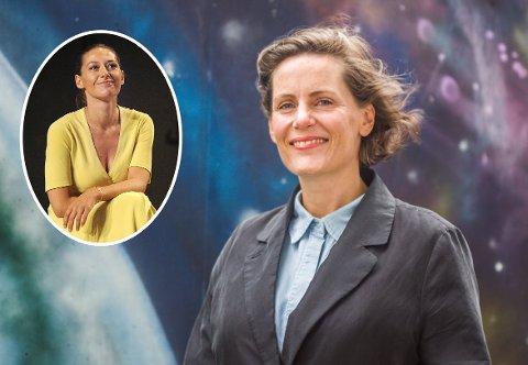 Pia Tjelta (innfelt) og  Tuva Novotny har sikret seg filmopsjon på Monica Isakstuens nyeste bok som lanseres nå på fredag.