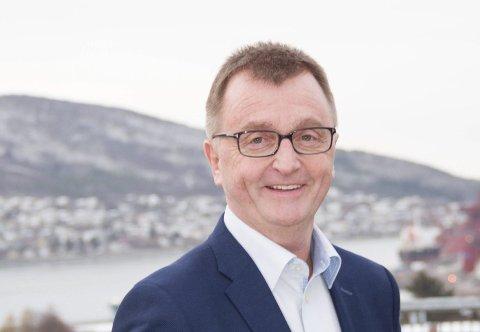 Sterke sammen: Leder i Narvik Ap, Roger Bergersen, mener det er bra at fylkesrådene i Troms og Nordland snakker sammen. Han mener man i nord må dyrke ulikhetene, for å bli sterke sammen. Arkivfoto