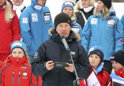 Arrangementssjef i Skiforbundet, Terje Lund.