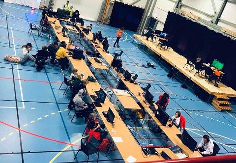 ROMJULSLAN: I romjulen i år ble det arrangert et RomjulsLAN for ungdom i Tysfjord. Nå ønsker Freddy Iversen at det skal bli et stort dataparty i romjulen for ungdom i hele regionen. De har kjøpt inn utstyr slik at de kan ha 150 tilstede samtidig.