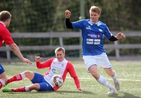 TIL HAMAR: Tore Andreas Gundersen og Flisa møter Storhamar på bortebane i den første cupkvalik-runden.