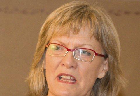 MISLIKER NAVN: Karin Andersen (SV) liker ikke Innlandet som nytt navn på Hedmark og Oppland.
