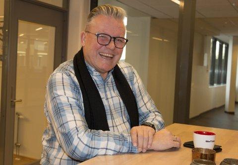 GIR SEG: Johan Aas (straks 60) gir seg som fylkesleder i Frp.