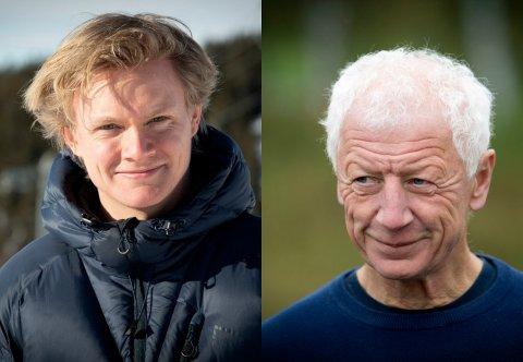 KVASS DEBATT OM SYKEHUS: Anders Brabrand i Lillehammer liker ikke at Hamars ordfører trykker «liker» på tekst med nedlatende personkarakteristikker. - Jeg burde ha lest hele innlegget, innrømmer Busterud.