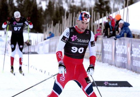 Mattis Stenshagen klinket til med seier på Gålå søndag.
