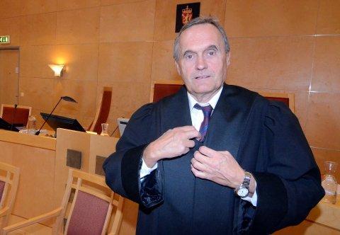 AKTOR: Politiadvokat Eystein Husby var aktor i saken mot de to tiltalte etter drosjeranet i 2015.