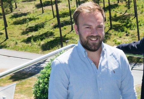 I RETTEN: Hallvard Thoresen har saksøkt DNB Eiendom etter et eiendomssalg.