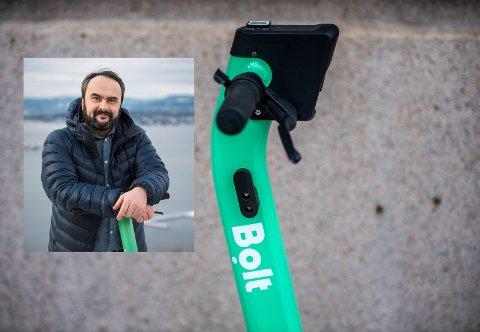 Mobilitietsselskapet Bolt etablerer seg på Lillehammer og setter  ut 100 nye elsparkesykler. Det bekrefter landssjef Jose Rei i Bolt.