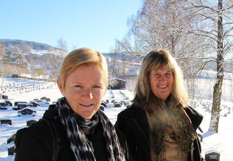 Reidunn Fløtre Trbojevic og Ruth Kari Sørumshagen