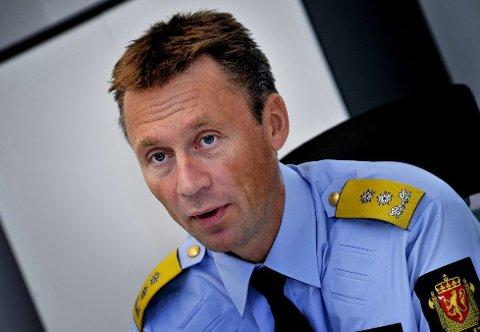 Politimester Steven Hassedal i Østfold er veldig fornøyd.