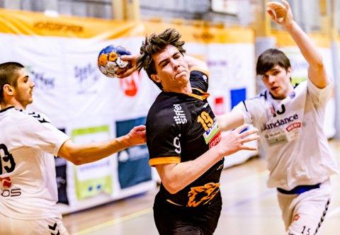FOR NORGE: HTHs bakspiller Sander Wennberg Linderud er tatt ut på det norske juniorlandslaget.