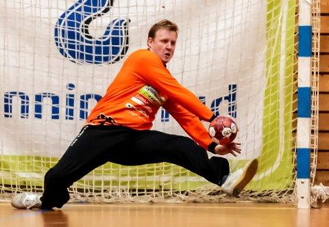 SUKSESS: Morten Nergaard har blitt kåret til banens beste i alle fem kampene han har spilt for Halden så langt.
