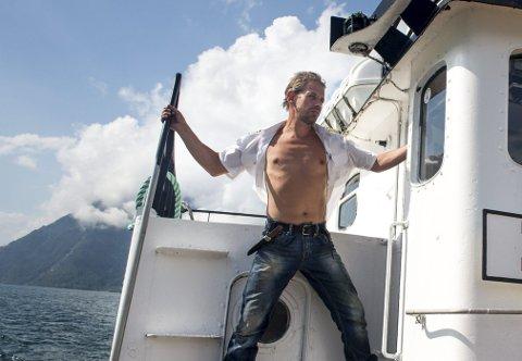 Klar for ekspedisjon: Leif Einar «Lothepus» Lothe.  vil snart sette kursen mot Nordpolen. Her fra TV2-serien Fjorden Cowboys. Foto: Eivind Senneset
