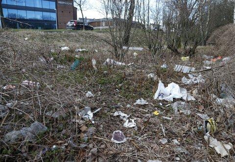 VÅRTEGN: På våren ligger det ofte litt mye søppel i grøftekanter. Nå kan du bli med på ryddedugnad.