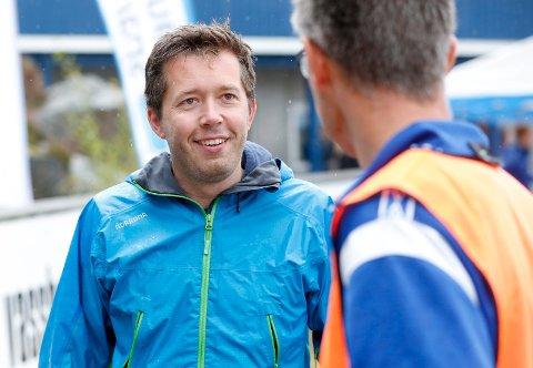 HÅPER PÅ BRA DELTAKELSE: Prosjektleder for Meny Aksdal-løpet, Håkon André Waage.