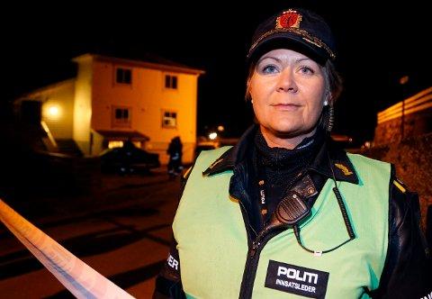TRAVEL PÅSKE: Vaktsjef Britt Jorunn Løvereide hos politiet i Haugesund.