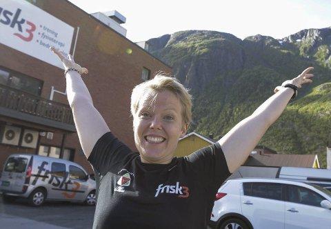 Fantastisk: Cecilia Kalla er ny sportslig leder på Frisk3, og hun elsker naturen.foto: per vikan