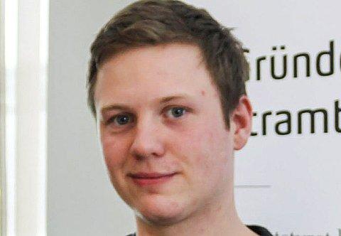 Sau og rein: Petter Hoff Krutådal har opprettet enkeltpersonsforetak.