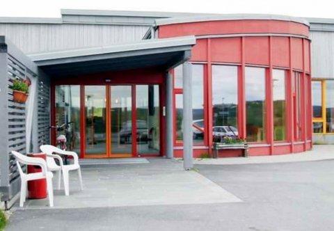 SENTER: Kommuneoverlegen holder til her på Kautokeino helsesenter.