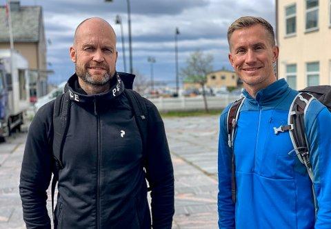 VIL SATSE I VADSØ: Etter avslag fra Vardø kommune, ønsker Vardiar AS nå å flytte oppdrettsplanene til Vadsø. Her ser vi daglig leder Jarno Gamst Guttorm og styremedlem Morten Gamst Pedersen.