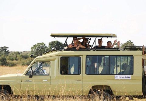 UTENLANDSTURENE ER PARKERT: HibiscusReiser, som har spesialisert seg på pakketurer til Afrika, forbereder seg på at de ikke kommer til å ha flere inntekter for resten av 2020. Reisebyrået fikk nylig 6.640 kroner i «koronastøtte» fra staten.FOTO: PRIVAT