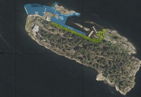 Vil utvide: Kragerø seilforening ønsker å utvide idrettsanlegget på Saltneven, og rådmannen stiller seg positiv.