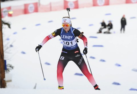 HAR MEIR INNE: Ragnhild Femsteinevik har eit større potensiale enn ho klarte å ta ut i sesongopninga.
